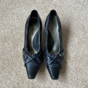 Kenneth Cole Reaction 3 inch  Black Heel Shoes
